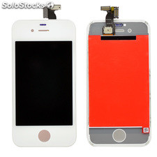LCD + Tactil para iPhone 4S A1387 color blanco
