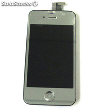 LCD + Tactil para Iphone 4S Plateado