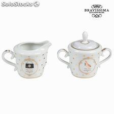 Lechera y azucarero fashion - Colección Kitchen's Deco by Bravissima Kitchen