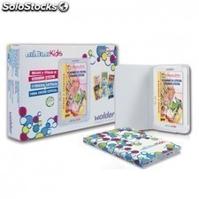 Lector de libros multimedia color ebook WOLDER mibuk delta edicion kids - 4gb