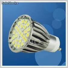 Led 24 smd 5050 360 lumens GU10, MR16, E27, E14