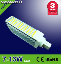 LED 7W E27/G24/G23 foco led La Lámpara led 650 lumens