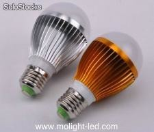 Led ampolleta 5watts, e27, blanco color