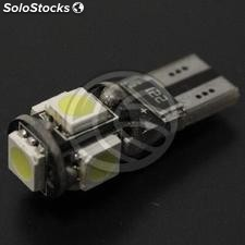 Led Bulb T10 W5W car canbus 5x5050SMD (NK43)
