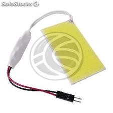 Led car bulb T10 W5W C5W festoon BA9S cob type 65x35mm flat (MK04)