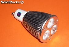 LED. Cree MR16/GU10/3X2W/3X3W.lâmpadas led