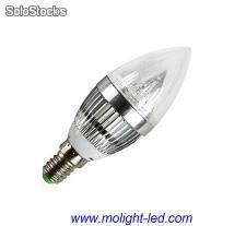 Led e12 e-14 Vela Bombillas lampara led 220v 110v