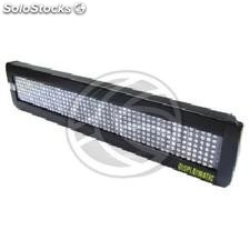 LED electronic sign 50x7 DisplayMatic of red and green (LE02)