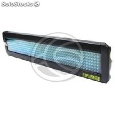 LED electronic sign DisplayMatic of intense blue 50x7 (LE04)
