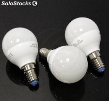 Led G45 E14 4.5W 230VAC luz quente 3 pack (NB46)