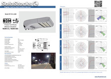 Led lampara alumbrado publico / led stree light 60W / 10 años de garantia