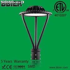 led lámpara poste de la zona 100w post top light