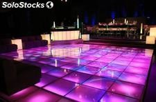 Led Led Beleuchtung Bricks Brick, Led Disco Boden