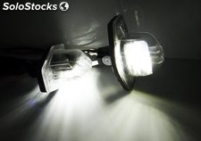 Led matricula honda