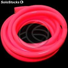 Led neon flexible lnf 24x14mm 80LED/m 220VAC 10m rojo (NL13)