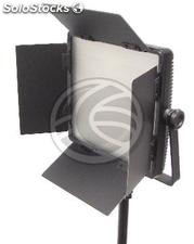 LED Panel Light 600 3200K 5600K 36W continuous with visors (EU92)