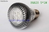 led par light led par20 bulb led par30 lamp led e27 light led 5w dimmable light - Foto 2