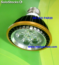 Led PAR20 Focos bombilla led 5W E27