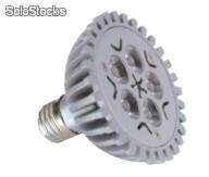Led par30 5w bulbo/ bombilla 90-250v