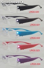 LED Reading Glasses / Occhiali da lettura con luci LED