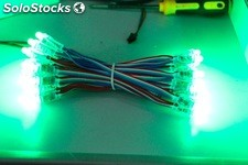 Led rgb de 12mm, solo rgb mod rgb-50-12-r-IP68
