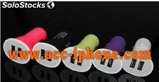 Led smile face phone cable
