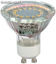 Led Spotlight GU10 de 3W Chip smd - Blanco cálido 3000K