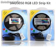 led strip 12v smd5050 rgb 60LEDs / m 5 metros ip65 pcb