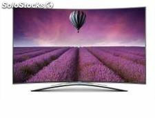 Led tv curvo hisense 55 55xt810 / real 4k / 3d / smart tv vision / doble