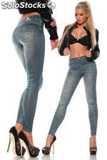 Leggings in Jeans-Optik
