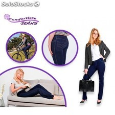 Leggings Vaqueros Comfortisse Jeans