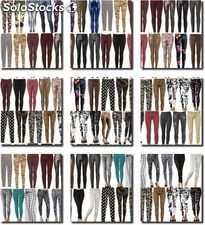Legginsy super mix - outlet mix