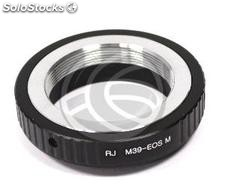 Leica lens adapter M39 to Canon M (JD82)