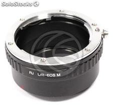 Leica R lens adapter for Canon M (JD87)