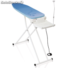 Leifheit Tabla de planchar Air Active M blanca y azul 76080
