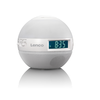 Lenco Radio despertador CRW-1/Sunrise blanco