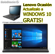 Lenovo Thinkpad T410 Intel Core i5 Webcam W7, Actualizalo a Windows 10 Gratis
