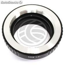 Lens adapter M42 to Leica M (JD23)
