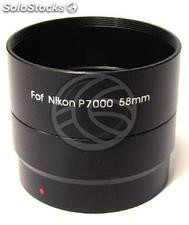 Lens adapter tube 58mm Nikon CoolPix P7000 (ED59)
