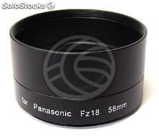 Lens adapter tube 58mm Panasonic Lumix FZ18 (ED57)