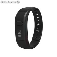 Leotec pulsera fitness smart color negra