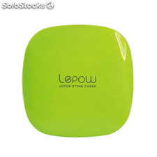 Lepow -Moonstone 6000 Banco portable de la energía - Apple Green (Teléfono y