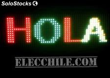 letreros luminosos de led programables