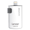 Lexar JumpDrive M20i USB 3.0 32GB para iPhone e iPad