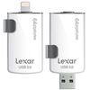 Lexar JumpDrive M20i USB 3.0 64GB para iPhone e iPad