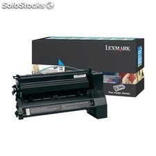 Lexmark - C782 Cyan Extra High Yield Return Program Print Cartridge 15000páginas