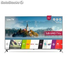 "Lg - 49UJ651V 49"""" 4K Ultra hd Smart tv Wifi Negro, Plata led tv"