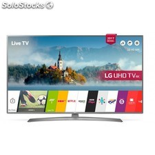 "Lg - 49UJ670V 49"""" 4K Ultra hd Smart tv Wifi Negro, Plata led tv"
