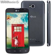 "Lg l70 d325 Preto 4,5"", Dual Chip, Android 4.4, 8mp Dual-Core"