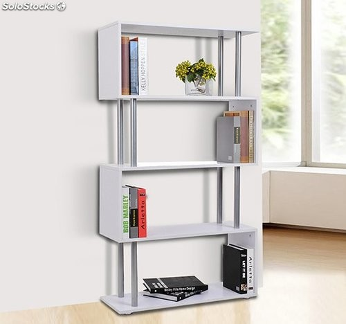 librer a muebles para oficina estanter a color blanco